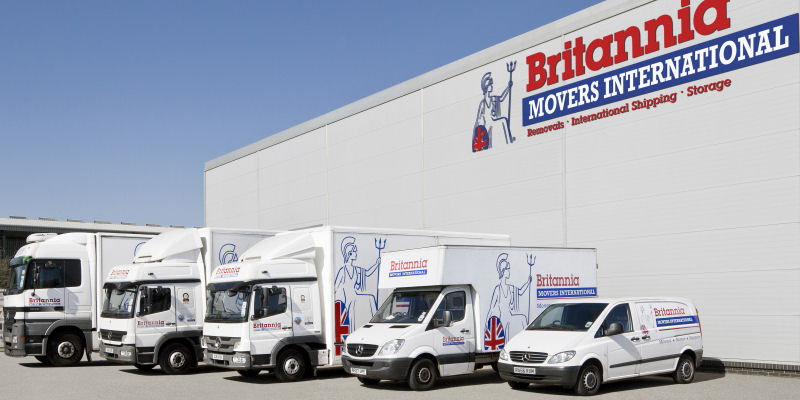 Britannia Movers International - Removals and Storage