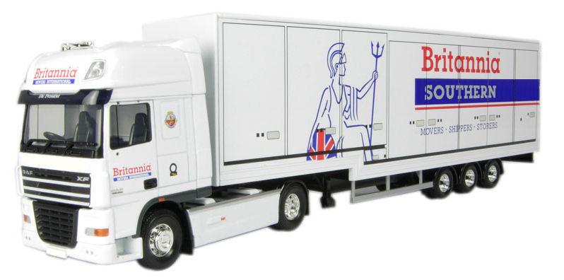 Britannia Spain to UK articulated truck